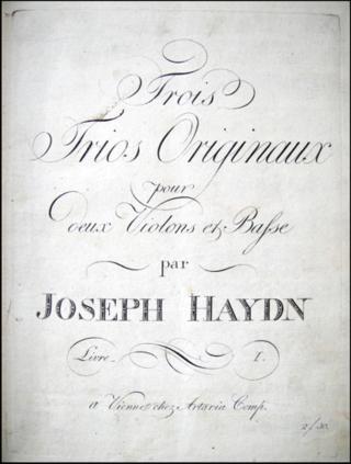 Artaria Haydn Trios sm