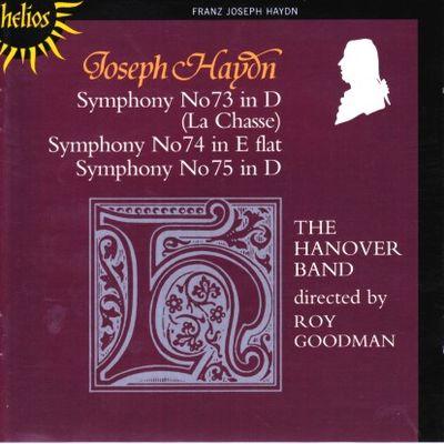 Haydn Symphonies 073 - 075 Goodman cover