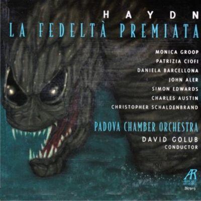 Haydn Opera La Fedelta Premiata square cover