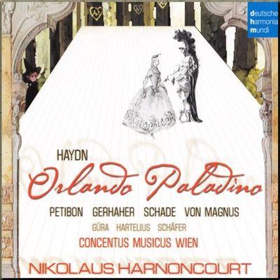 Haydn Opera Orlando Paladino Harnoncourt cover