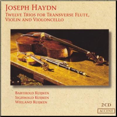 Haydn Flute Trios Kuijkens cover