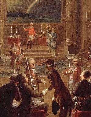 1784-5 Die Wiener Freimaurerloge zur gekroenten hoffnung