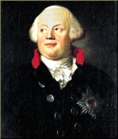 1787 Frederick Wilhelm II King of Prussia