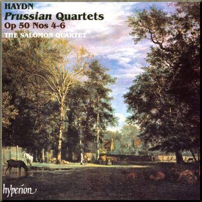 Haydn Salomon 4tet Op 50 4_6 cover