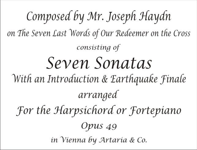 7 Last Words piano score translated