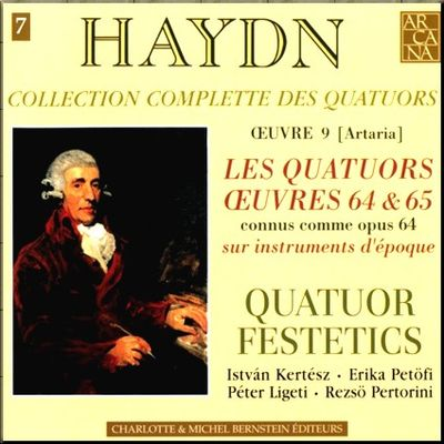 Haydn Festetics Op 64 cover