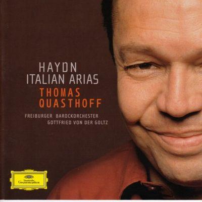 Haydn Italian Arias Quasthoff cover