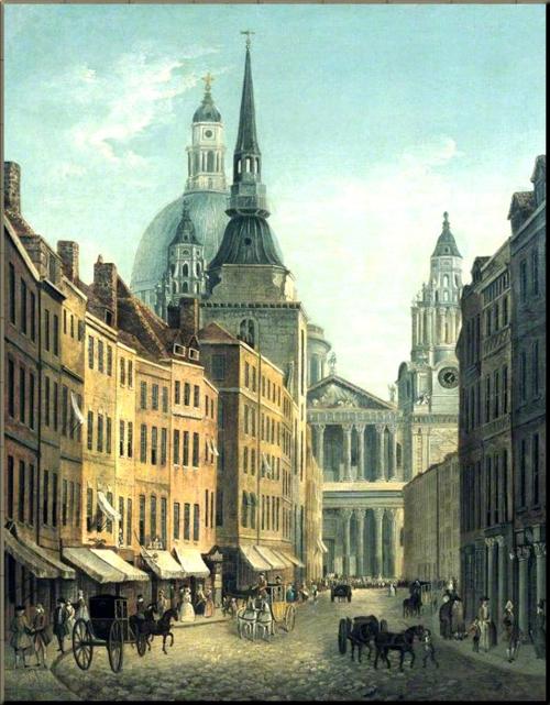 1791 Ludgate c 1790 William Marlow