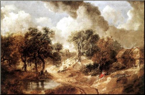1791 Gainsborough Landscape in Suffolk