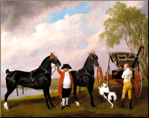 1792 Prince of Wales' Phaeton by George Stubbs
