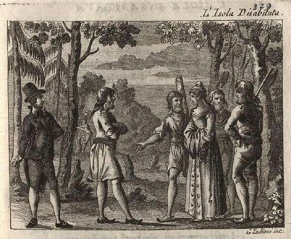 L'isola libretto cover pic