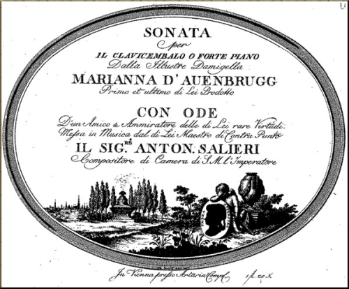 Cover of Sonata by Mar Auenbrugger
