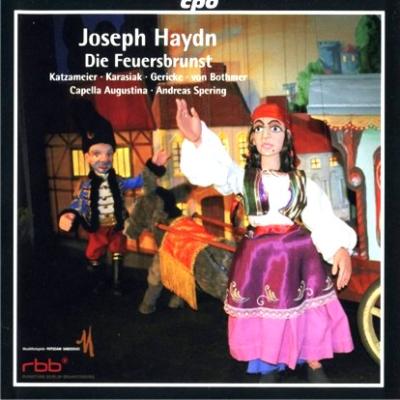 Haydn Die Feuersbrunst cover