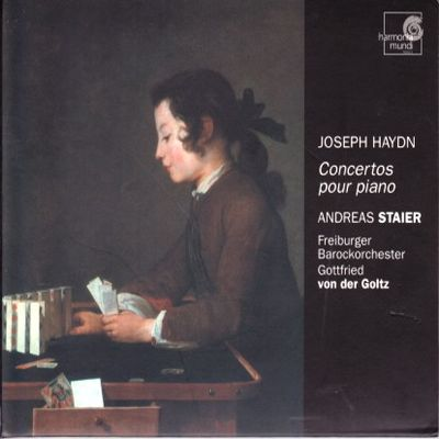 Haydn FP Concertos Staier cover
