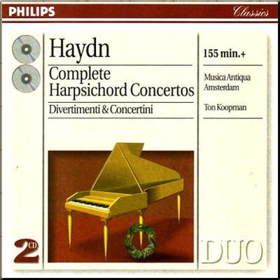 Haydn Hob 14 Koopman cover