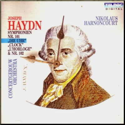 1794 Good god haydn clock face