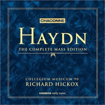 Haydn Masses Hickox box cover