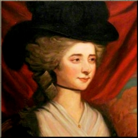 Frances Burney, 1782 by Edward Francesco Burney reduced
