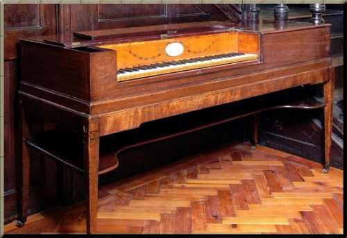 1794 Longman & Broderip square piano