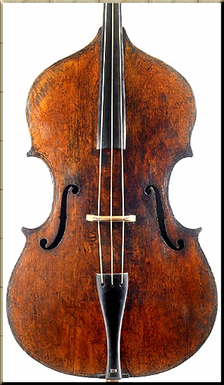 1795 Gasparo da Salo 1590 Dragonetti's bass