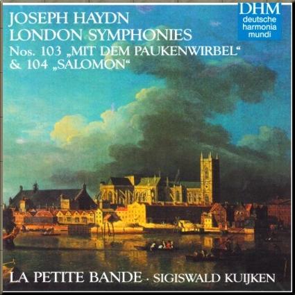 Haydn Kuijken 103_104 cover