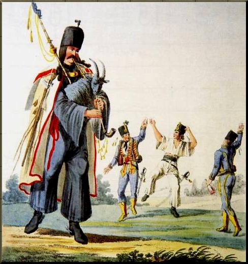 1795 Verbunkos 3 playing a Duda