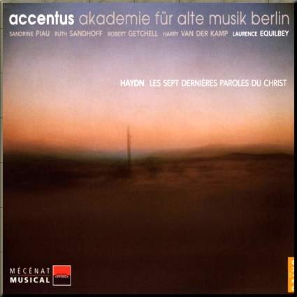 Haydn 7 Last Words accentus cover