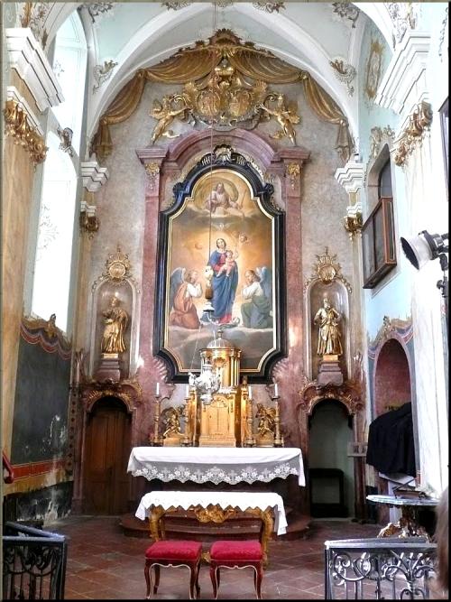 1796 Eisenstadt Schlosskapelle