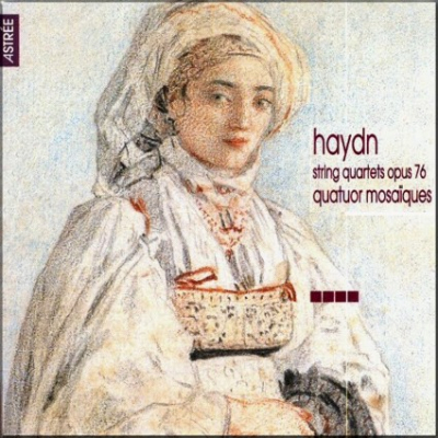 Haydn Mosaiques Op 76 cover