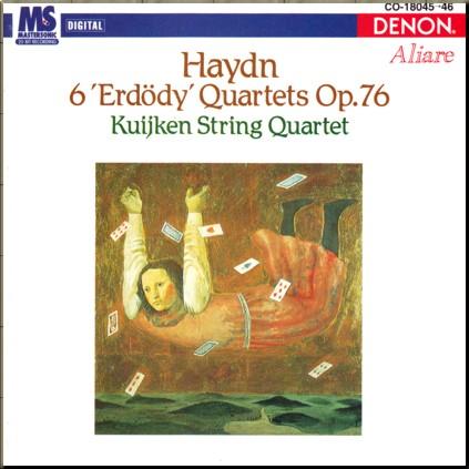 Haydn Kuijken 4tet Op 76 cover