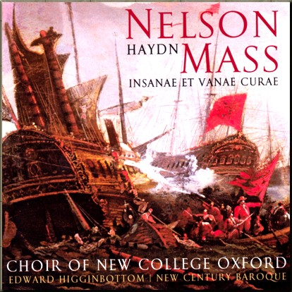 Haydn Nelson Mass New Century Baroque cover