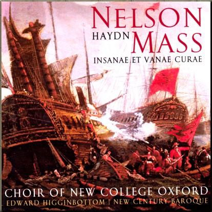 Haydn Nelson Mass New Century Baroque cover