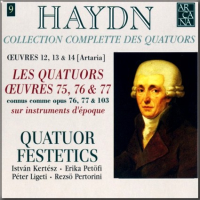 Haydn Festetics Op 76 cover