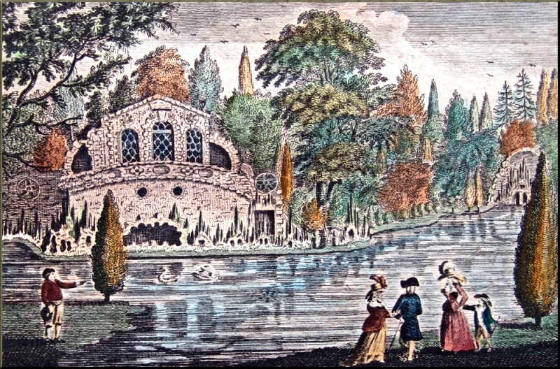 1797 Grotto at Oatlands in Surrey sm