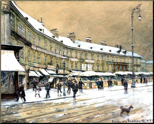 Freihaus Theater am Naschmarkt Wien by Carl Pippich