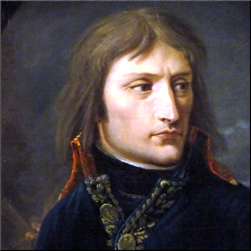1797 General-in-Chief Napoleon Bonaparte's portrait in 1797 by Louis Albert Guislain Baclere d'Albe (1761-1824) sm