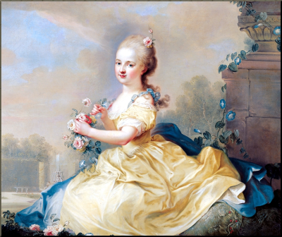 1797 Marie Hermenegild Esterhazy by August Friedrich Oelenhainz