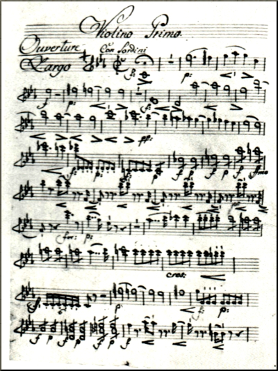 1798 Elssler's copy of a part from the Creation