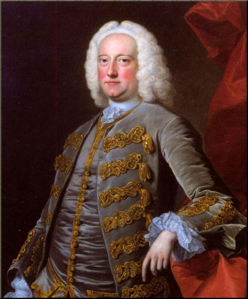 1798 Charles Jennens by Thomas Hudson ca 1745