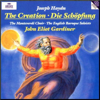 Haydn Creation Gardiner cover