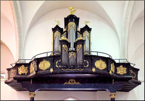 1798 Johann Gottfried Malleck Organ Eisenstadt 1778