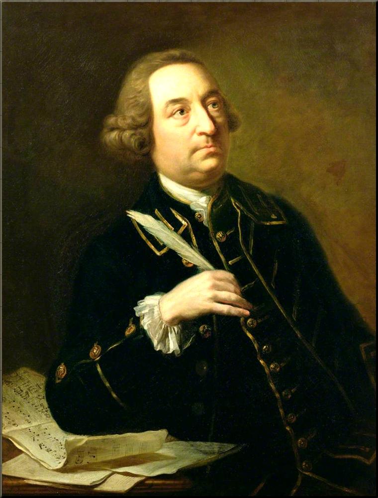 1798 J. C. Smith by Johann Zoffany