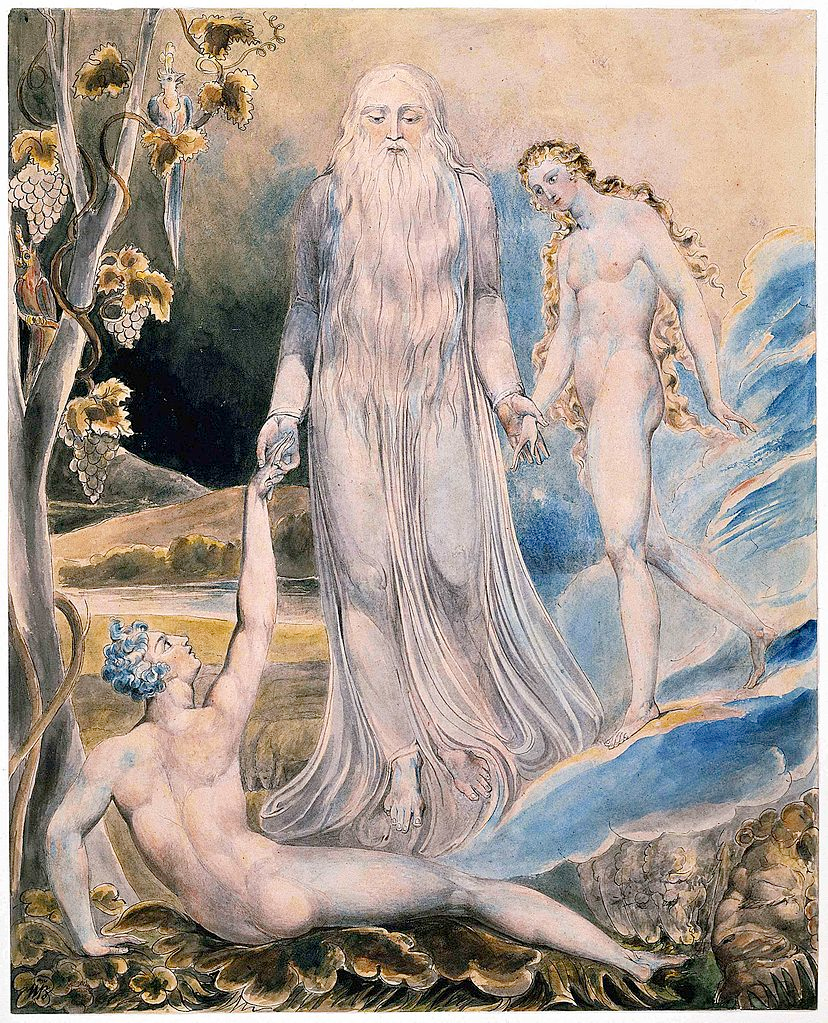 1798 'And She Shall Be Called Woman' by William Blake ca. 1803