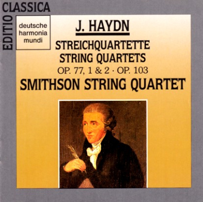 Haydn Smithson 4tet Op 77 & 103 cover
