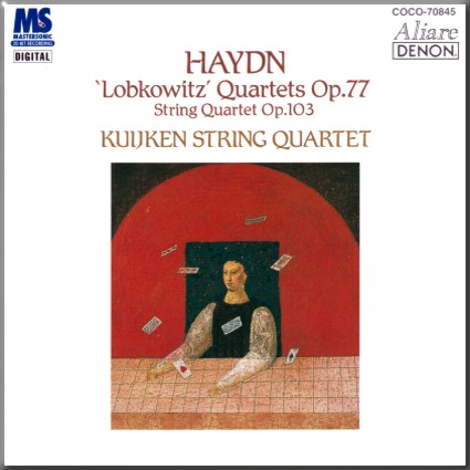 Haydn Kuijken 4tet Op 77 cover