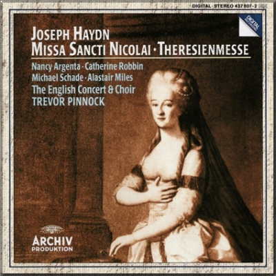 Haydn Theresienmesse Pinnock cover