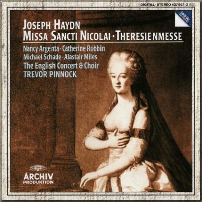 Haydn Theresienmesse Pinnock cover