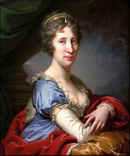 1799 Maria Theresa of Naples & Sicily