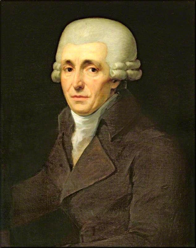 1799 Haydn portrait J C Rossler