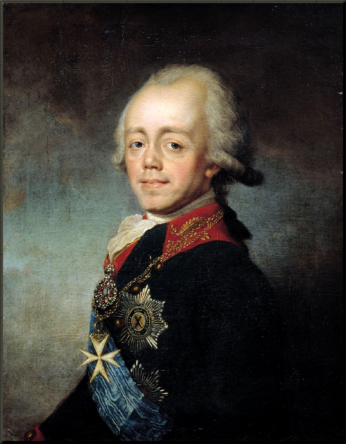1799 Paul I  Russia by Stepan Shchukin